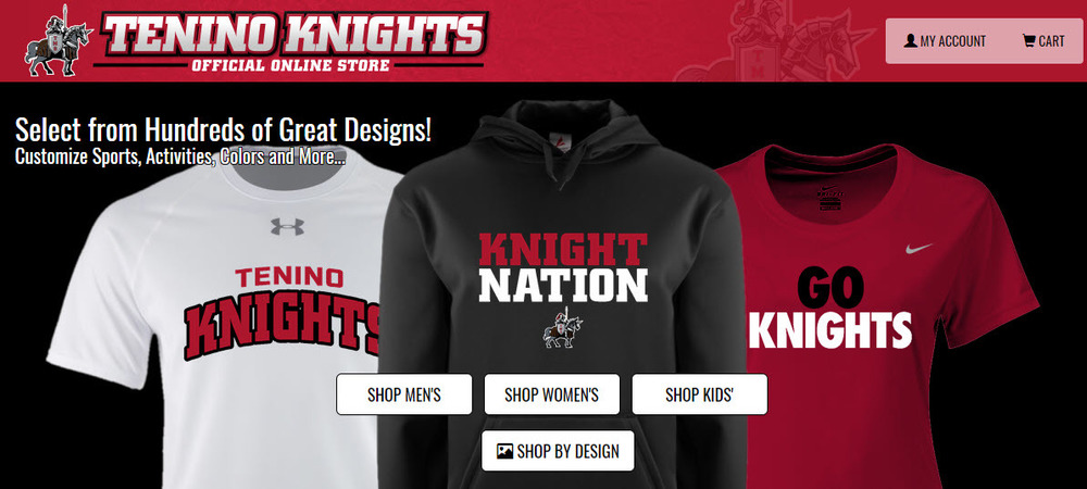 Tenino Middle School Fanwear