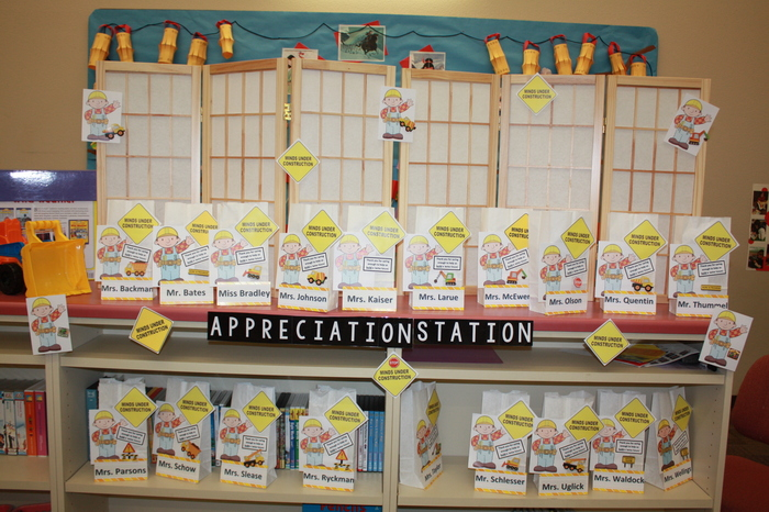 Teacher Appreciation Week at Parkside!