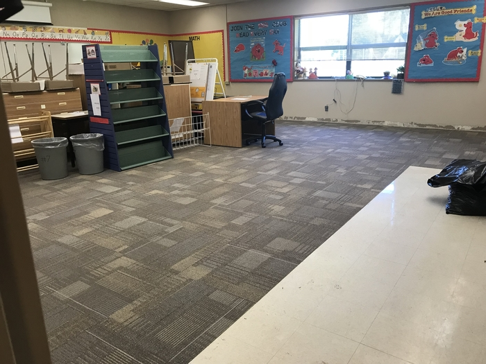 Moving back into the classrooms