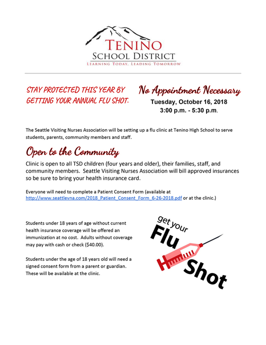 Flu Shot Clinic Details Image