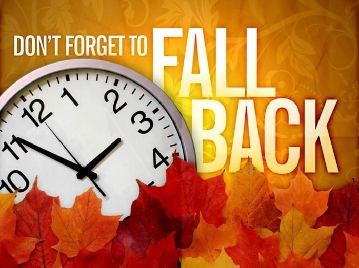 Fall back - Clock