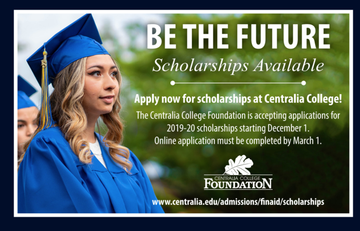 Flyer for scholarships