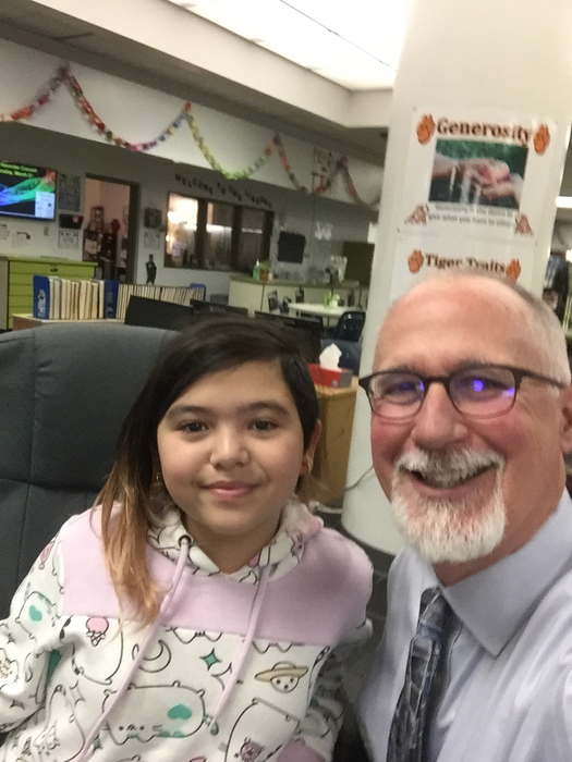 Principal's Chair for the day!