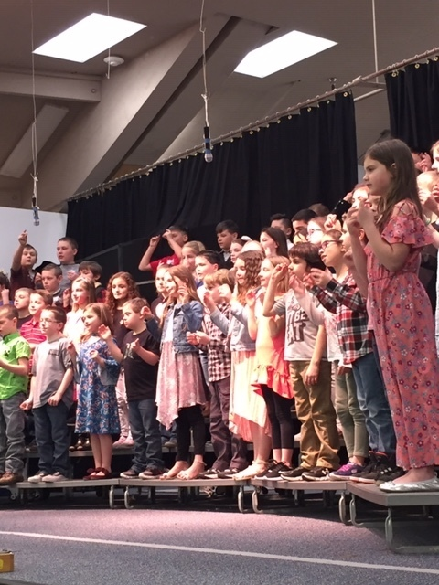 3rd Graders perform on March 6.