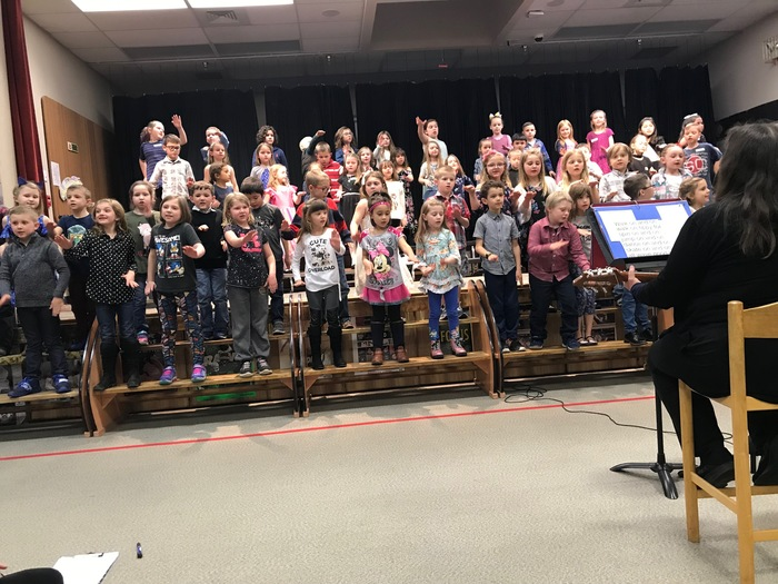 1st Grade Music Program