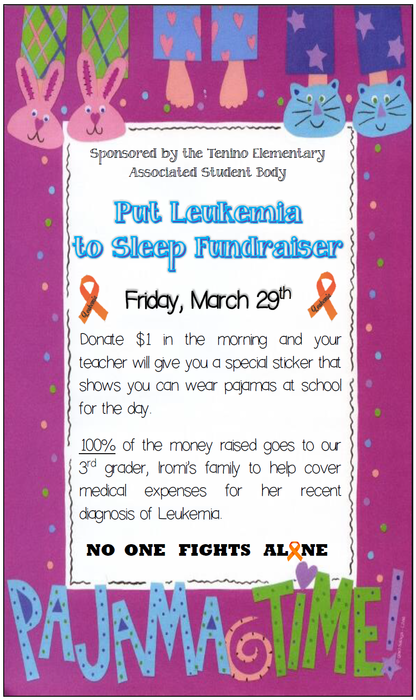 Put Leukemia to Sleep Fundraiser