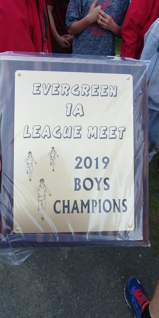 2019 EVERGREEN LEAGUE CHAMPS