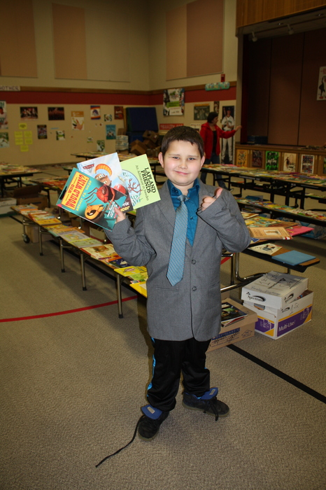 Thumbs up for books!