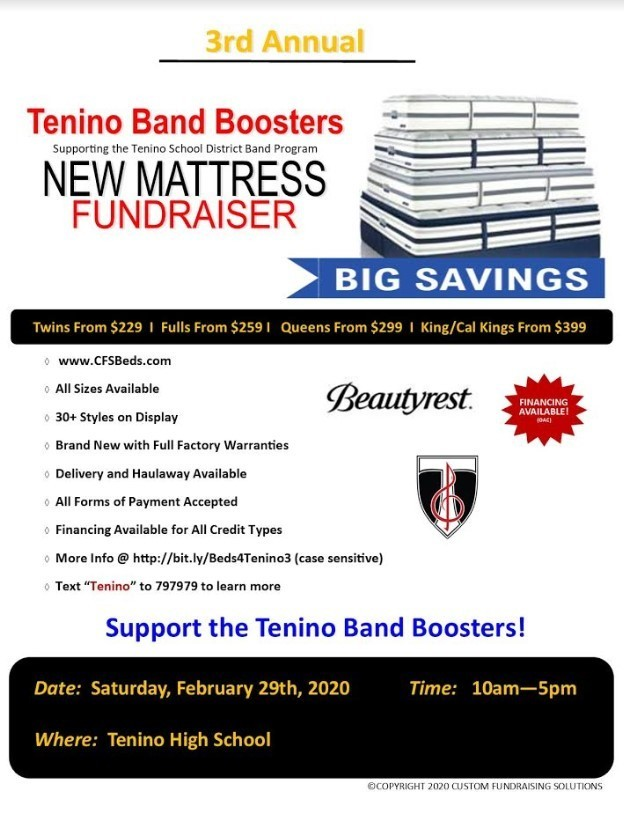 Tenino Band Boosters