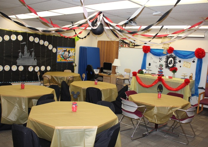 Staff Room for Classified Appreciation Week 2018 -Parkside Elementary, Tenino