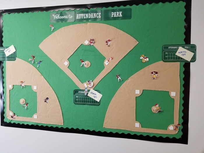Wahoo! The students are so excited! Our baseball attendance competition begins Monday!  Aiming for 100% attendance – all day every day!
