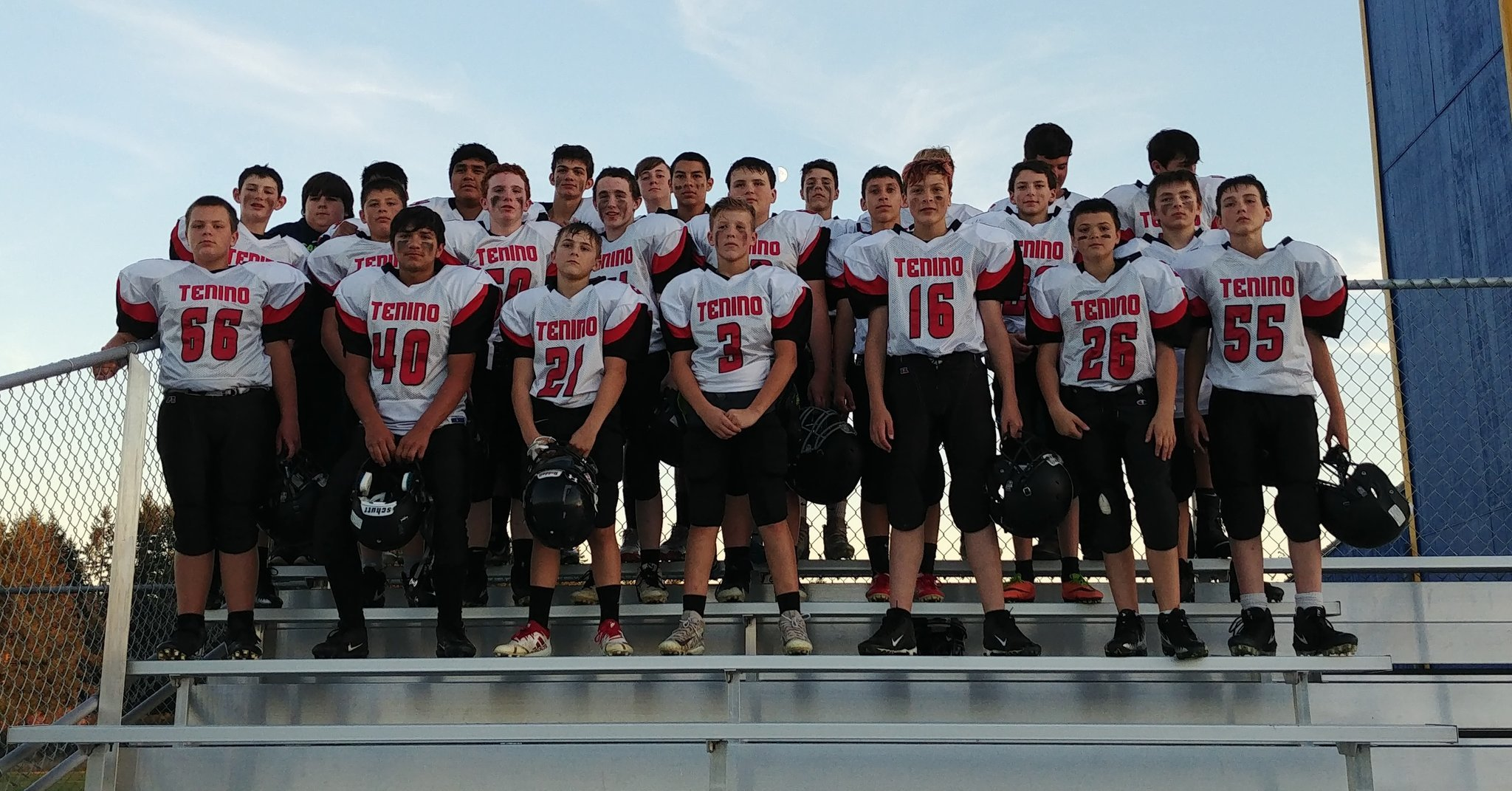 Photo of TMS Football Team